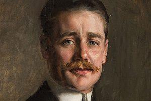 Portrait of John Armstrong Drexel by Mariette Leslie Cotton