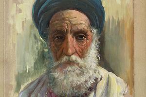 Arab Elder – Diego Marin Lopez (1856-1917)