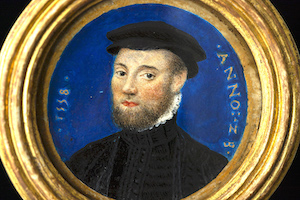 Unknown Gentleman – Circle of Francois Clouet (1558)