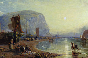 Staithes – James Baker Pyne (1800-1870)