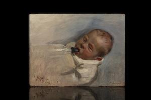 Alfred (11 Tage Alt) – Arthur Kampf (1864-1950)